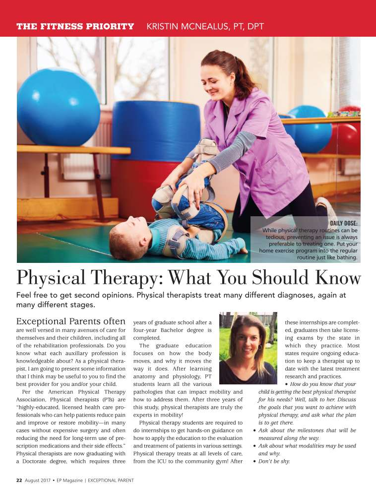 Physical Therapy: What You Should Know